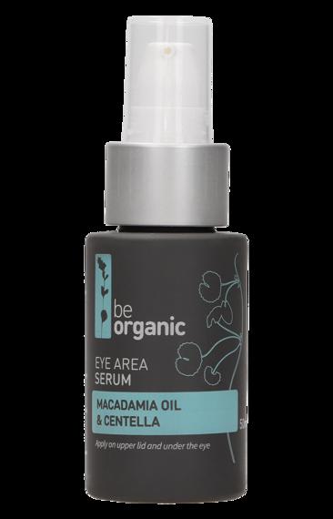 Be Organic Serum pod oczy  Olej makadamia & Centella