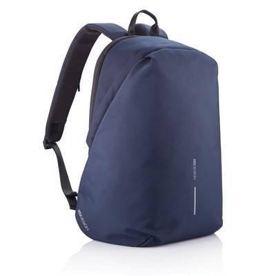 """Bobby Soft, plecak na laptopa 15,6"""", chroniący przed kieszonkowcami, wykonany z RPET"""
